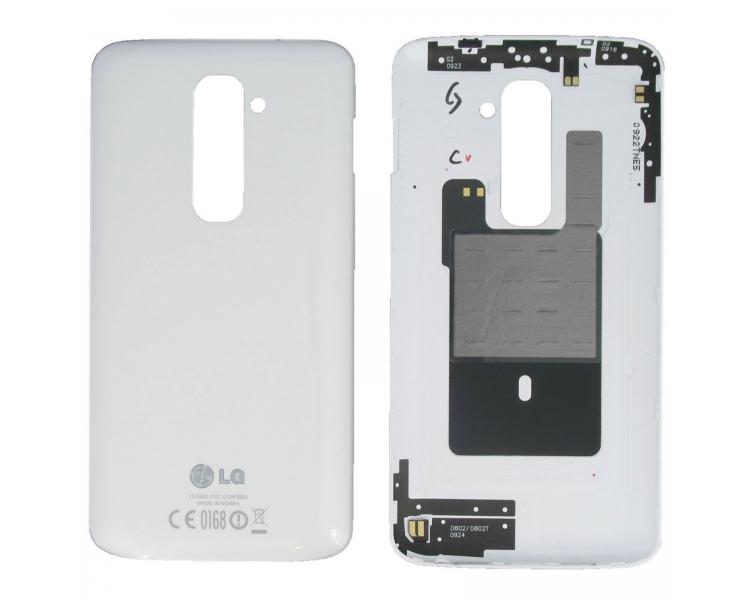 Oryginalna Obudowa Tylna do LG G2 D802 Biała Biała