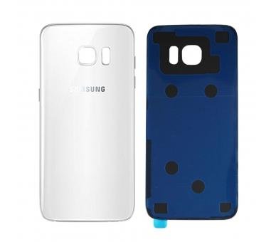 Back Cover voor Samsung Galaxy S7 Edge G935F Wit - Vervangt het origineel ARREGLATELO - 1