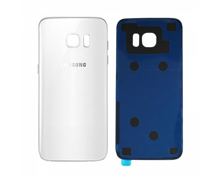 Tapa Trasera para Samsung Galaxy S7 Edge G935F Blanco - Reemplaza la Original ULTRA+ - 1