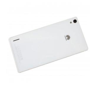 Tapa Trasera Original para Huawei Ascend P7 Blanco Blanca
