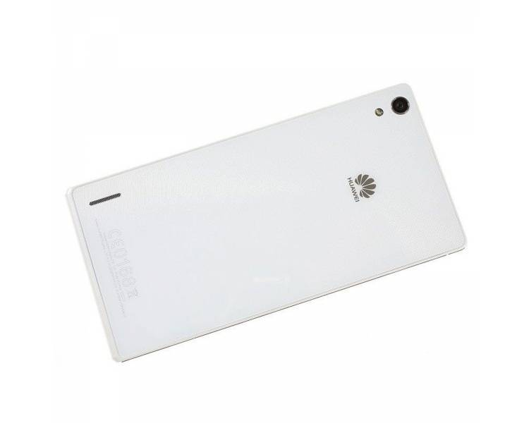 Originele Back Cover voor Huawei Ascend P7 Wit Wit Huawei - 1