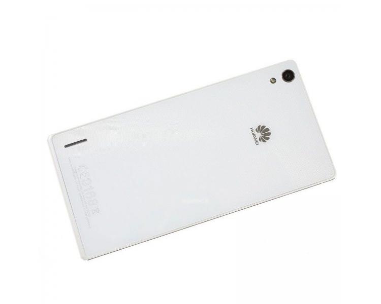 Tapa bateria Carcasa trasera Battery Cover Original Huawei Ascend  P7 Blanca Huawei - 1
