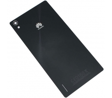 Tapa bateria Carcasa trasera Battery Cover Original Huawei Ascend  P7 negro Huawei - 1
