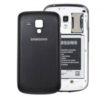 Back Cover Batterij Cover voor Samsung Galaxy Trend S7560 S7562 Zwart ARREGLATELO - 1