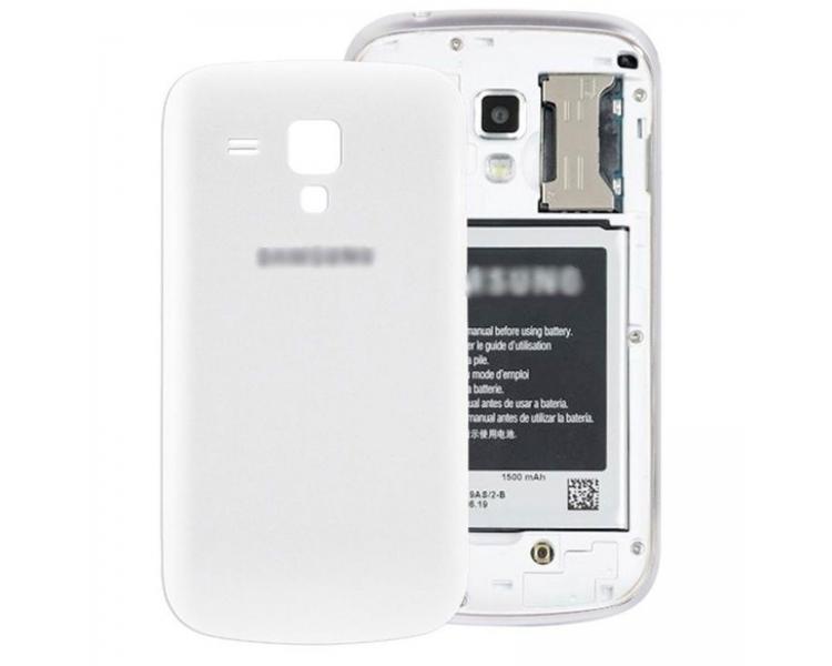 Back Cover Batterij Behuizing voor Samsung Galaxy Trend S7560 S7562 WIT Wit ARREGLATELO - 1