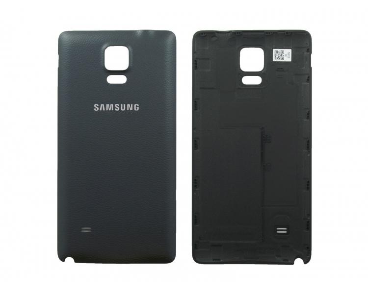 Tapa Trasera para Samsung Galaxy Note 4 Negro Negra ULTRA+ - 1