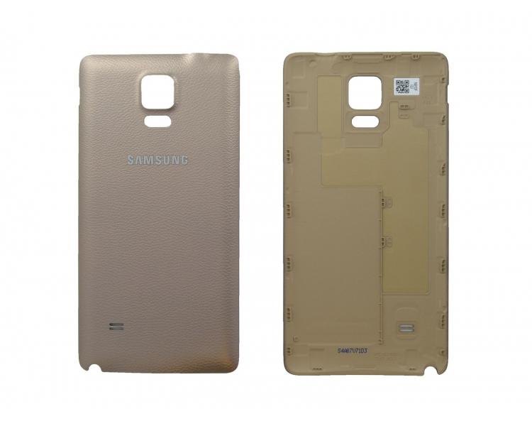 Originele Back Cover voor Samsung Galaxy Note 4 Goud Goud Goud Samsung - 1