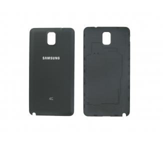 Carcasa bateria Tapa trasera back cover Samsung Galaxy Note 3 Negra Negro