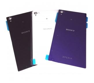 Tapa Trasera de Cristal para Sony Xperia Z1 L39H L39T 6902 C6903