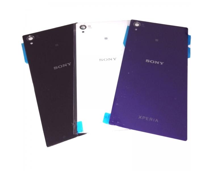 Glazen achterkant voor Sony Xperia Z1 L39H L39T 6902 C6903 ARREGLATELO - 1