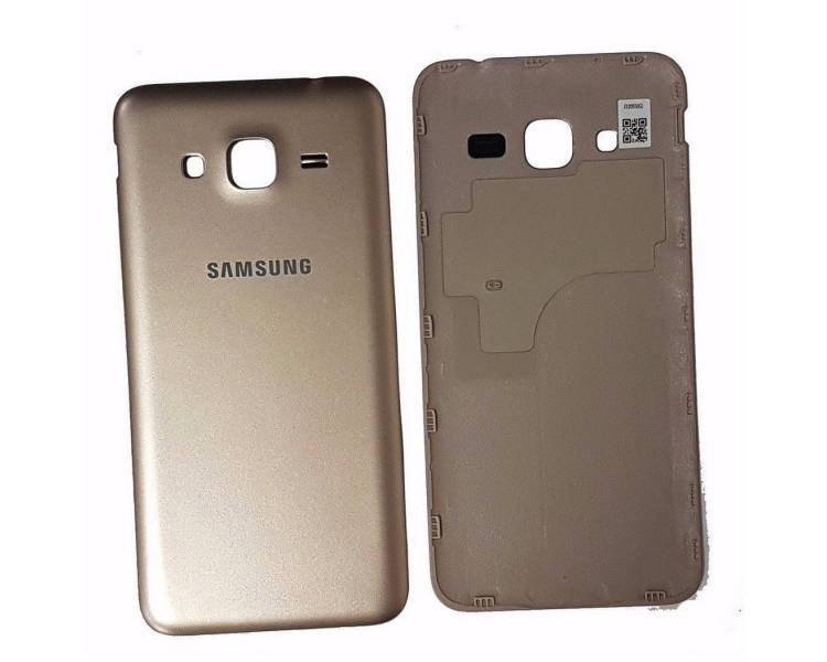 Tapa Trasera para Samsung Galaxy J5 J500F Dorado Dorada Oro ULTRA+ - 1