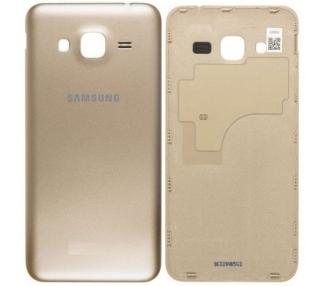 Tapa Trasera para Samsung Galaxy J3 2016 J320F J320FN J320 Dorado