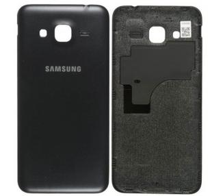 Back Cover voor Samsung Galaxy J3 2016 J320F Zwart Zwart