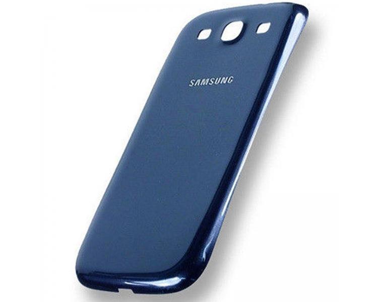 Back Cover voor Samsung Galaxy S3 i9300 Origineel Blauw Samsung - 1