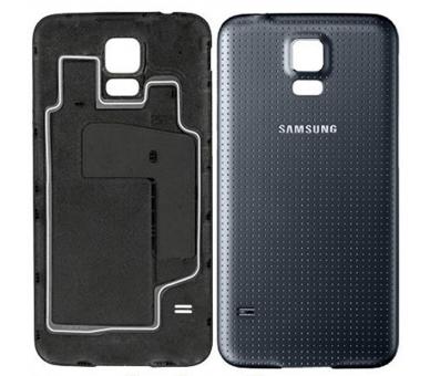 Tapa bateria carcasa trasera para Samsung Galaxy S5 G900F Negro Azul Oscuro ULTRA+ - 1