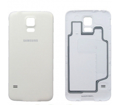Tapa Trasera para Samsung Galaxy S5 Blanco Blanca ULTRA+ - 1