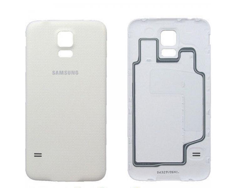 Back Cover voor Samsung Galaxy S5 Wit Wit ARREGLATELO - 1