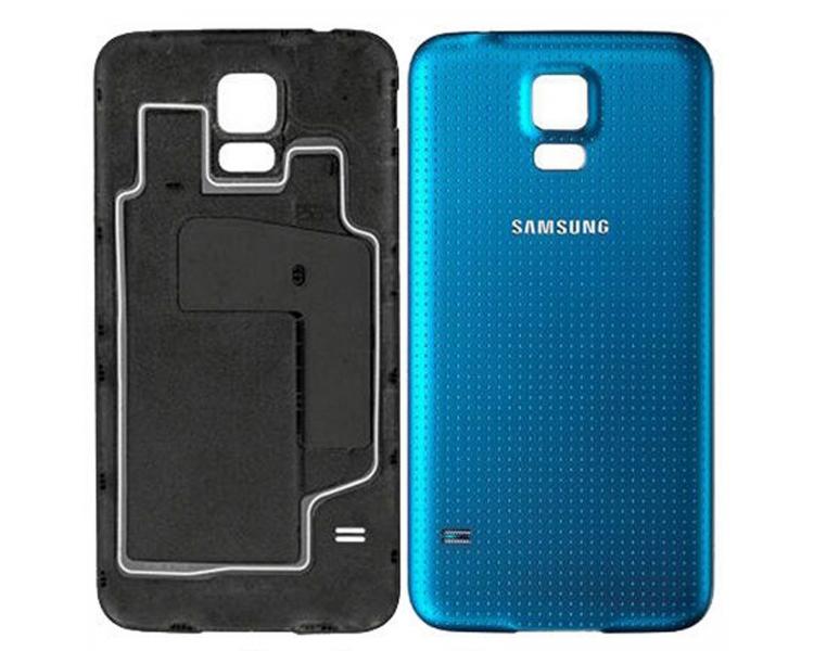 Back Cover voor Samsung Galaxy S5 Blauw ARREGLATELO - 1