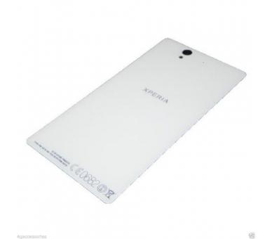 Back Cover voor Sony Xperia Z L36H Wit Wit ARREGLATELO - 1