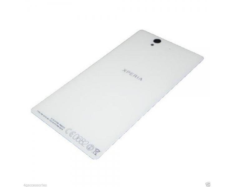 Back cover for Sony Xperia Z L36H   Color White ARREGLATELO - 1