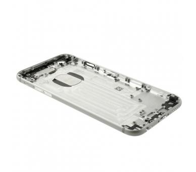 Volledige behuizing chassis, achterklep voor iPhone 6 Wit Zilver ARREGLATELO - 2