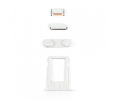 Volledig chassis voor iPhone 5S Wit Zilver  - 6