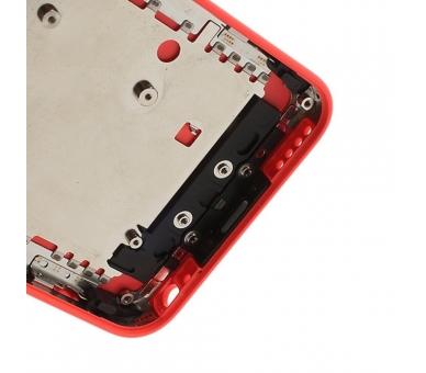 Chasis Carcasa completa para iPhone 5C Rosa  - 5
