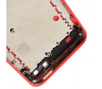 Chassis Volledige behuizing voor iPhone 5C Roze  - 4