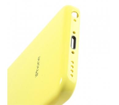 Chasis Carcasa para iPhone 5C Amarillo  - 3
