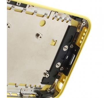 Chasis Carcasa para iPhone 5C Amarillo  - 6