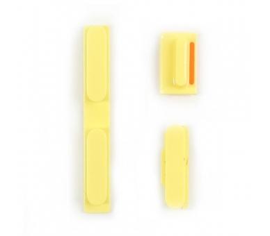Chasis Carcasa para iPhone 5C Amarillo  - 9