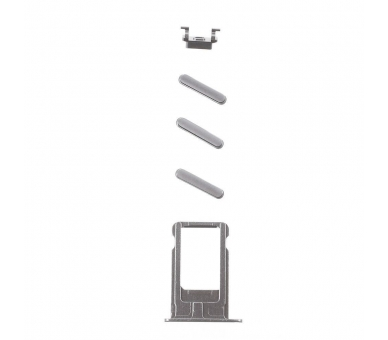 Chasis Carcasa para iPhone 6 Plus Gris  - 4