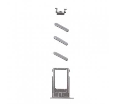 Chassis Behuizing voor iPhone 6 Plus Grijs  - 4