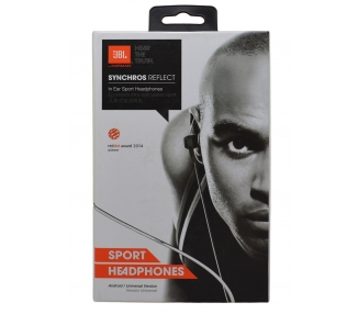 Auriculares Estereo Bluetooth Deporte JBL Synchros Reflect BT Negro