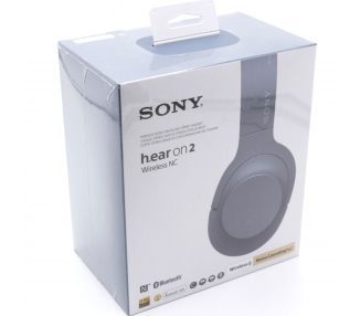 Auriculares HD Bluetooth NFC Sony WH-H800 EHH800 aptX Negro