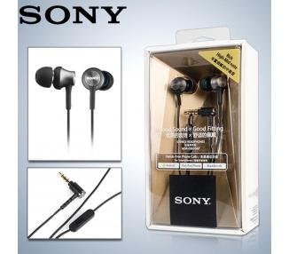 HD-stereohoofdtelefoon Sony MDR-EX650AP geïmporteerd zwart
