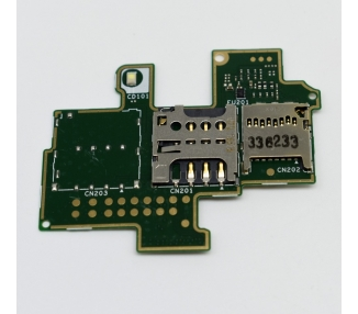 Sim Reader & Micro SD for Sony Xperia M - 1