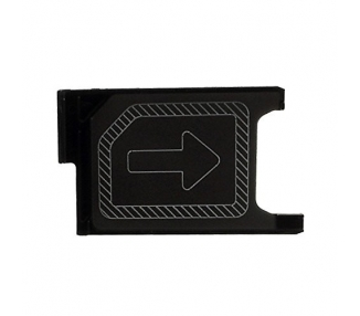 Sim Tray for Sony Xperia Z3 | Color Black - 1