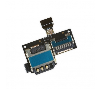 Flex Reader SIM Micro SD Samsung Galaxy S4 Mini i9190 i9195 Original