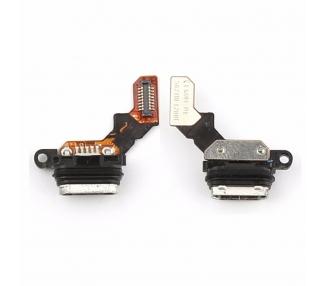 Micro USB Oplaad Connector Flex voor Sony Xperia M4 Aqua E2303 E2306 E2353