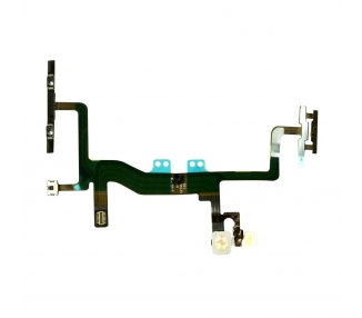 Cable Flex Boton Apagado Encendido + Volumen + Mute + Flash para iPhone 6S