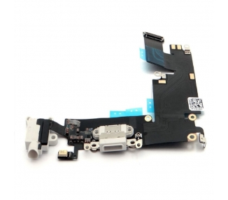 Elastyczne złącze mikrofonu anteny do ładowania iPhone'a 6 Plus w kolorze białym