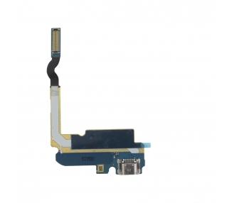 Flex Dock Connector Microfoon Micro USB Opladen Samsung Galaxy Mega 6.3 i9200 i9205