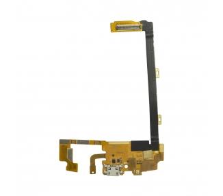 Flex Conector Carga LG Google Nexus 5 D820 D821 Cable Dock USB Microfono