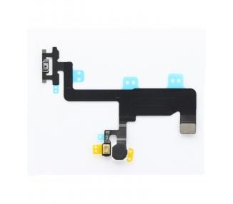 Flex-kabel Power-knop Flitser en microfoon voor iPhone 6 vergrendelingsknop