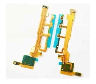 Cable Flex Botones Encendido Volumen para Sony Xperia Z C6602 L36H