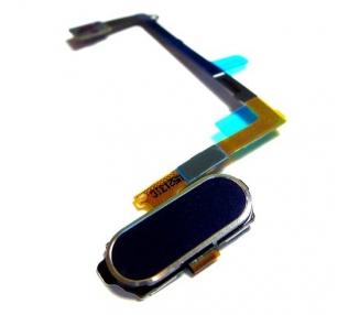 Home Button Flexkabel für Samsung Galaxy S6 EDGE G925 schwarze Farbe