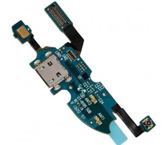 Flex Conector Carga + Microfono Samsung Galaxy S4 mini i9195 I9190 I9192