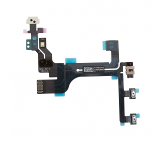 FLEX BOTON POWER ON OFF ENCENDIDO VOLUMEN MUTE SENSOR PROXIMIDAD PARA IPHONE 5C