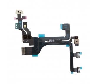 Flex Botones Encendido Apagado Volumen Mute Sensor Proximidad iPhone 5C